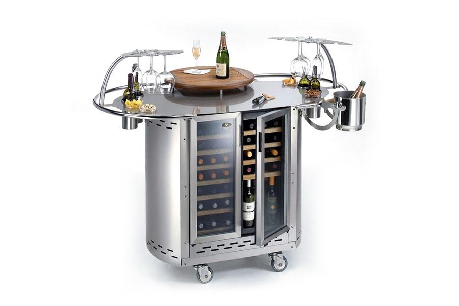 Bongos wine mobile di servizio per il bere